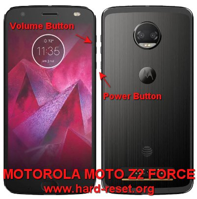 hard reset motorola moto z2 force