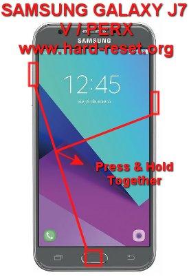 hard reset samsung galaxy j7v / j7perx