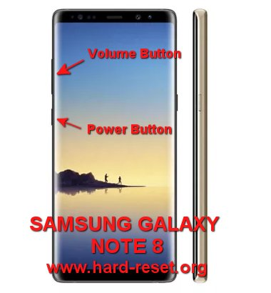 hard reset samsung galaxy note8