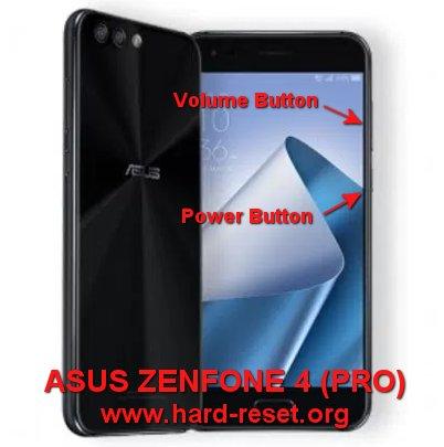 hard reset asus zenfone 4 pro ze554kl zs551kl