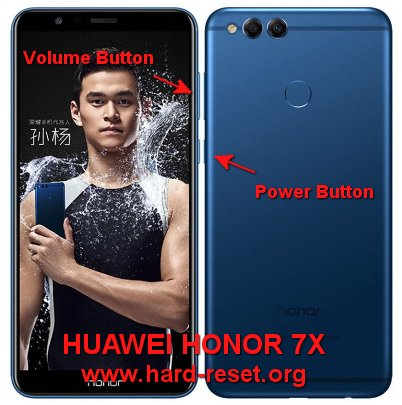 hard reset huawei honor 7x