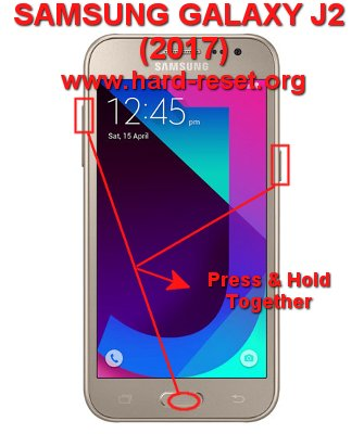 How to Easily Master Format SAMSUNG GALAXY J2 (2017) J200G with