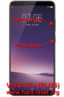 hard reset vivo v7+ / vivo v7 plus