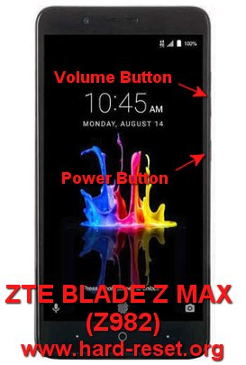 How to Easily Master Format ZTE BLADE Z MAX (Z982) with Safety Hard