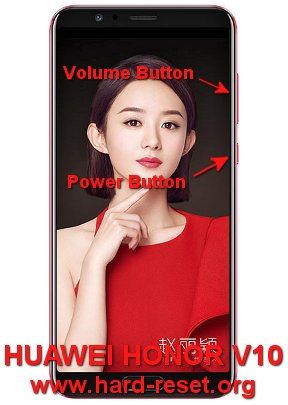 hard reset huawei honor v10