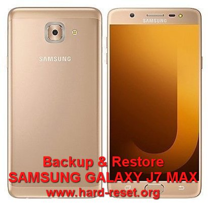 backup restore data samsung galaxy j7 max / g615f