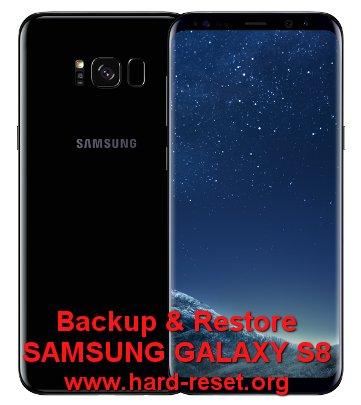 backup restore data samsung galaxy s8 (plus) g950 g955
