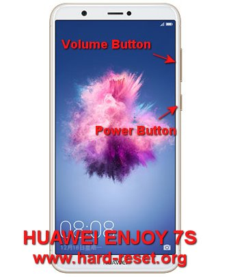 hard reset huawei enjoy 7s