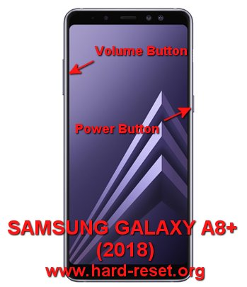 hard reset samsung galaxy a8+ plus( 2018) / a730f