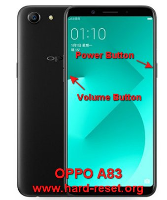 How to Easily Master Format OPPO A83 with Safety Hard Reset? - Hard
