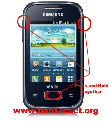 How to Easily Master Format SAMSUNG GALAXY Y PLUS GT S5303