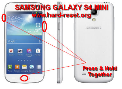 How to Easily Master Format SAMSUNG GALAXY S4 MINI GT