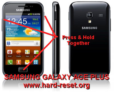 How to Easily Master Format SAMSUNG GALAXY ACE PLUS GT ...