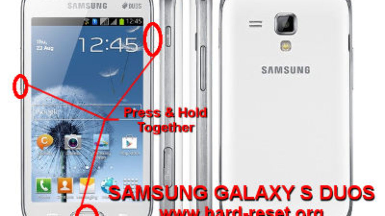 How To Easily Master Format Samsung Galaxy S Duos Gt S7562 With Safety Hard Reset Hard Reset Factory Default Community