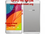 hard reset oppo r5 r816 to factory default