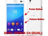 hard reset sony xperia c4 (dual) - master format