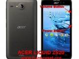 hard reset acer liquid z520