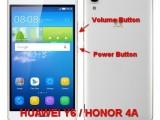 hard reset huawei honor 4a / huawei y6
