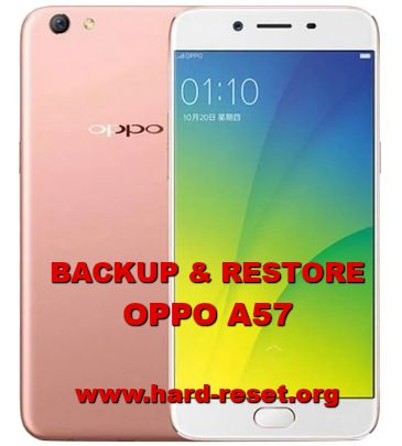 how to backup & restore data / photos / contact on oppo a57