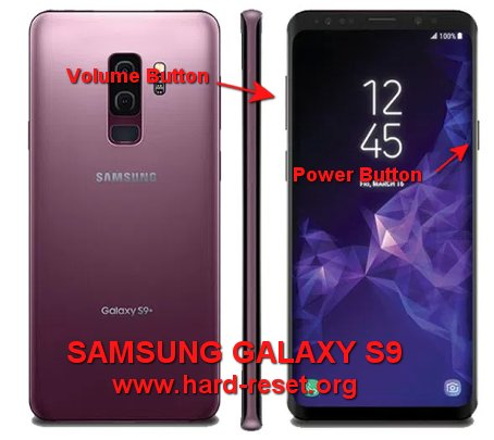 hard reset samsung galaxy_s9_/ s9+ plus