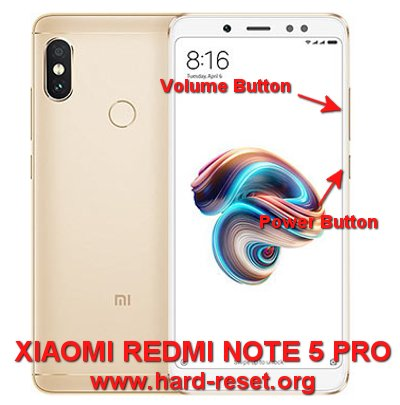 How to Easily Master Format XIAOMI REDMI NOTE 5 PRO with