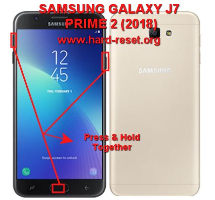 How to Easily Master Format SAMSUNG GALAXY J7 PRIME 2 (2018