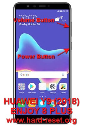 hard reset huawei y9 / enjoy 8 plus