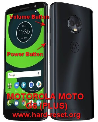 hard reset motorola moto g6 and moto g6 plus
