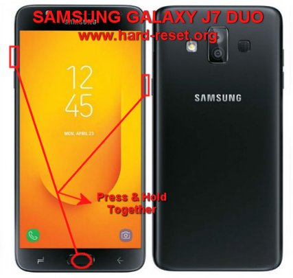 hard reset samsung galaxy j7 duo