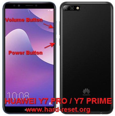How to Easily Master Format HUAWEI Y7 PRO (2018) / Y7 PRIME (2018