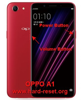 hard reset oppo a1