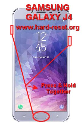 How to Easily Master Format SAMSUNG GALAXY J4 (J400F/DS