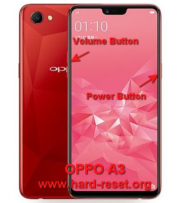 hard reset oppo a3