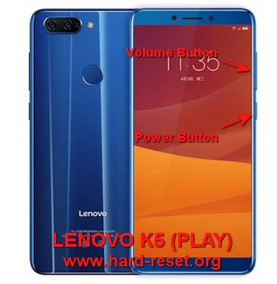 How to Easily Master Format LENOVO K5 (PLAY) with Safety