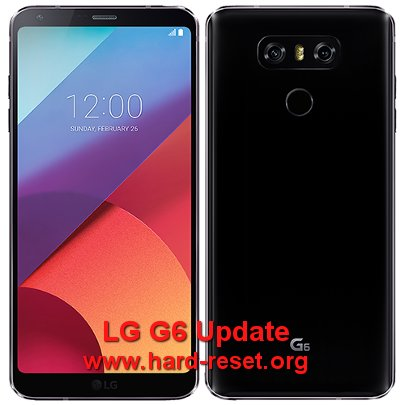 hard reset lg g6 firmware android update