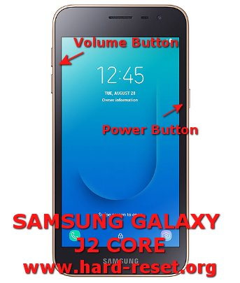 hard reset samsung galaxy j2 core