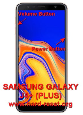 How to Easily Master Format SAMSUNG GALAXY J4+ (PLUS) with