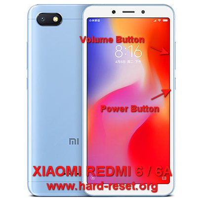 How to Easily Master Format XIAOMI REDMI 6 / 6A with Safety Hard