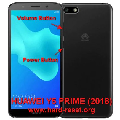 How to Easily Master Format HUAWEI Y5 PRIME (2018) with