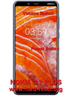 hard reset nokia 3.1 plus (android one)