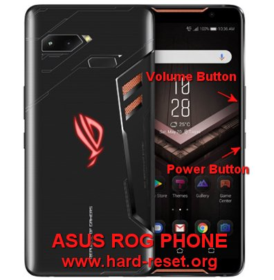 hard reset asus rog phone for gamer