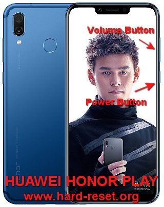 hard reset huawei honor play