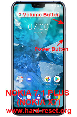 hard reset nokia 7.1 plus or nokia x7