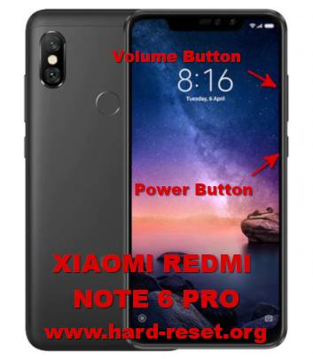 How to Easily Master Format XIAOMI REDMI NOTE 6 PRO with