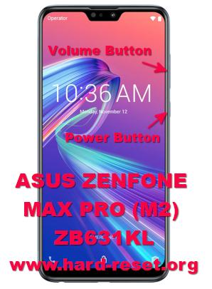 hard reset asus zenfone max pro m2 zb631kl