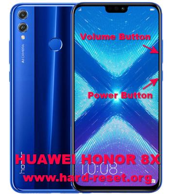 hard reset huawei honor 8x / honor view 10 lite