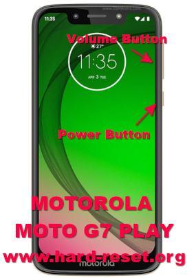 hard reset motorola moto g7 play