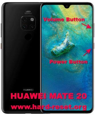 hard reset huawei mate 20