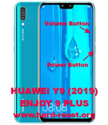 How to Easily Master Format HUAWEI Y9 (2019) / ENJOY 9 PLUS