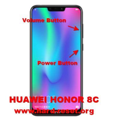 hard reset huawei honor 8c (BKK-LX2 / BKK-LX1 / BKK-L21 / BKK-AL00 / BKK-TL00 / BKK-AL10)